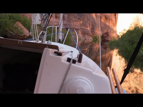 Tiny Sailboat Goes to Lake Powell - 2