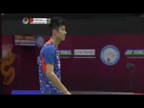 Yonex Sunrise Hong Kong Open 2015 | Badminton QF M3-MS | Chen Long vs Lee Chong Wei