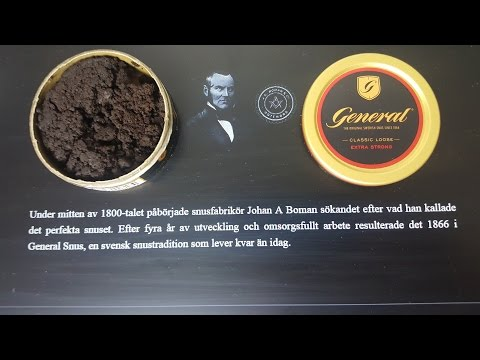Snus review #36: General Classic Loose Extra Strong