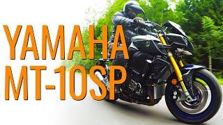 Yamaha MT-10SP, попытка подружиться #МОТОЗОНА №62 / Видео