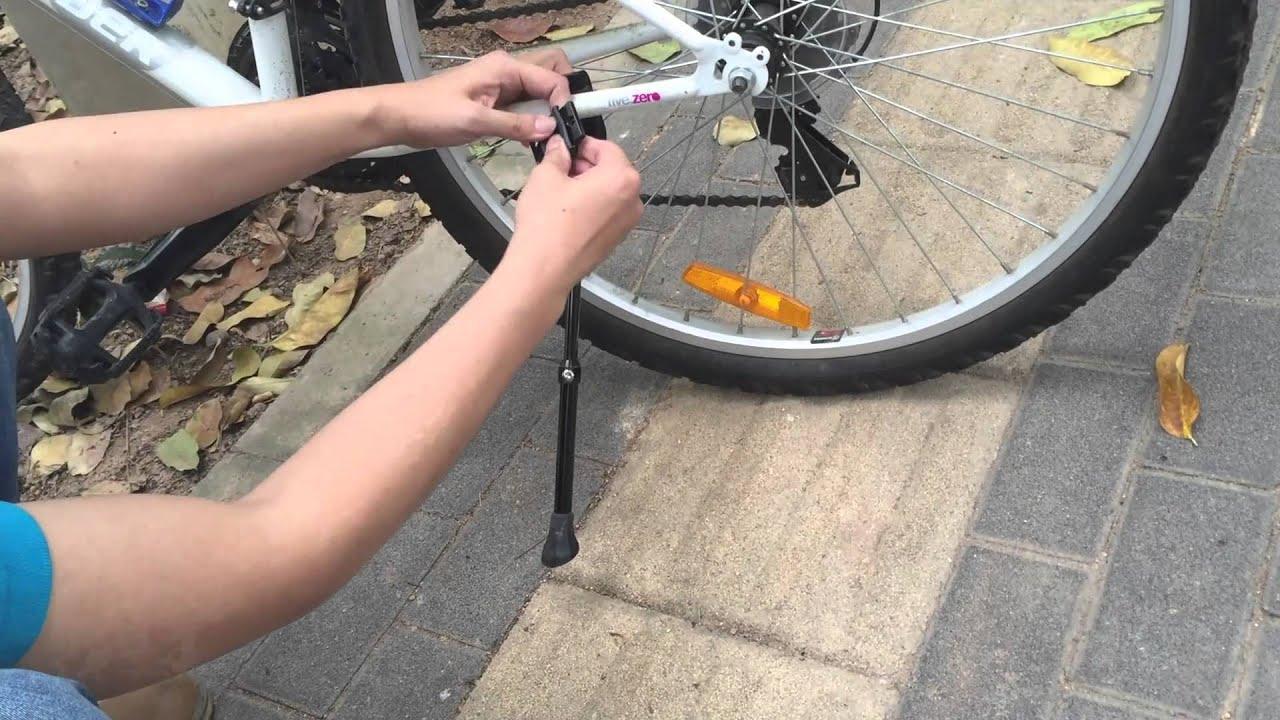Bicycle Adjustable Alloy Stand Side Kick Road Bike Side Kickstand