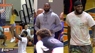 LeBron James is the AAU Father of the YEAR! Compilation of his BEST Moments!