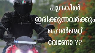 Is Pillion Helmet Mandatory for Kerala ?