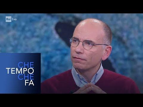 Enrico Letta sui migranti - Che tempo che fa 27/01/2019