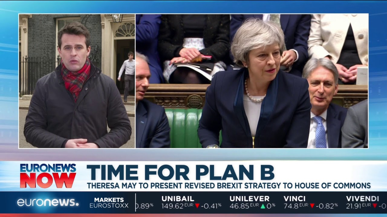 May prepares to present Brexit 'Plan B' | Euronews Now