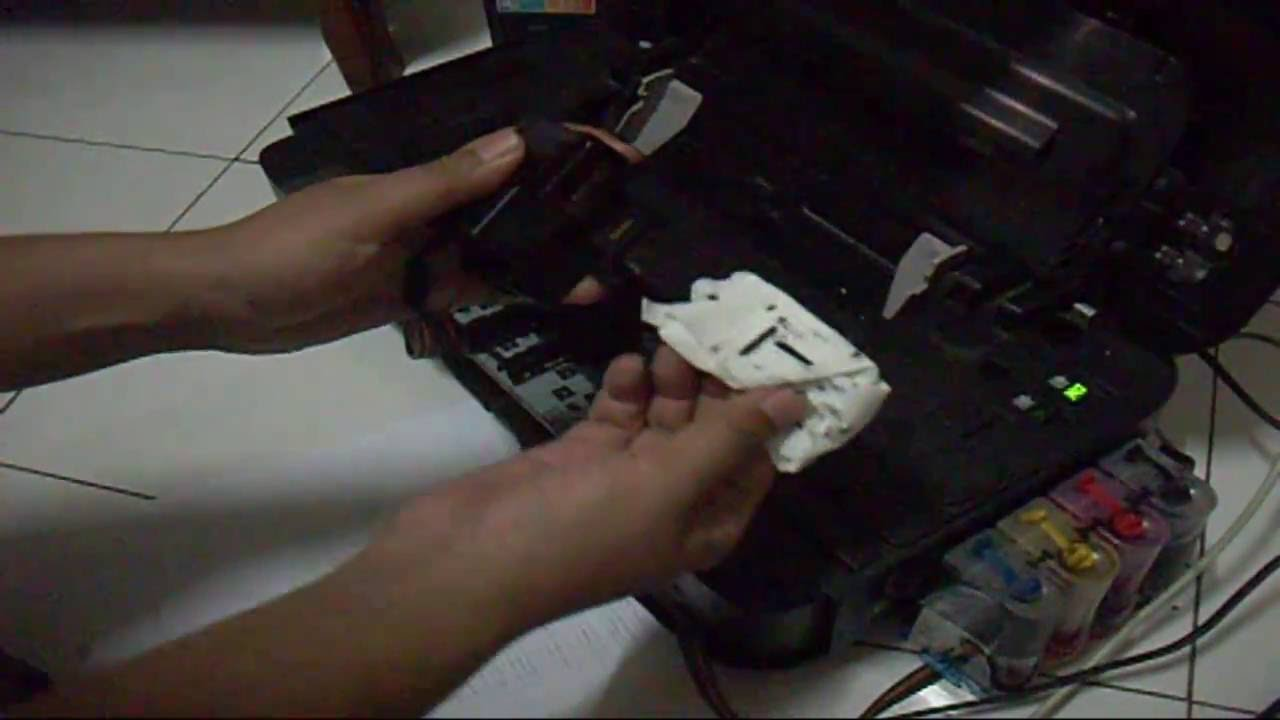 Cara Mengatasi Hasil Cetak Printer Putus Putus Atau Bergaris Garis