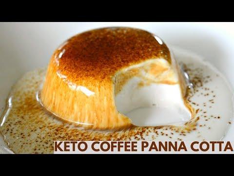 Keto Coffee Panna Cotta | Keto Recipes | Low Carb Panna Cotta