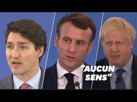 Macron, Johnson et Trudeau s'expliquent après leur moquerie supposée sur Trump