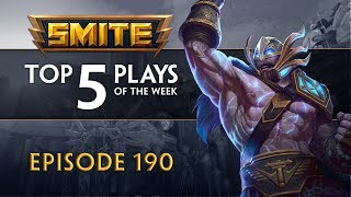 SMITE - Top 5 Plays #190