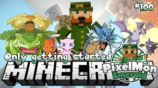Minecraft Pixelmon Emerald #100 Only Getting Started