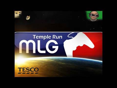 MLG Temple Run?!!?!