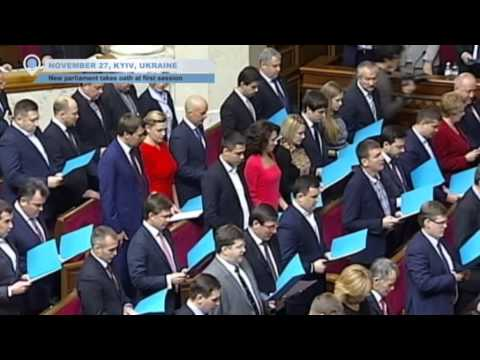 New Ukrainian Parliament Convenes: Coalition is most pro-EU in Ukraine's history