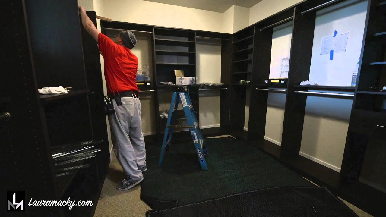 Walk In Closet By Valet Custom Cabinets U0026 Closets