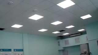 Потолочные светодиодные светильники ECOLED-30 Econom(При освещении внутренних помещений операторских завода были применены светодиодные светильники ECOLED-30 Econom., 2014-02-06T16:28:02.000Z)