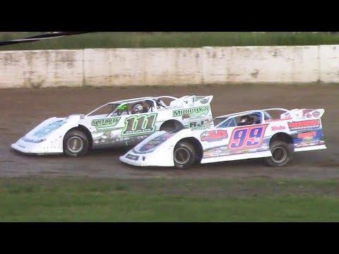 RUSH Crate Late Model Heat Three | Eriez Speedway | 6-2-19