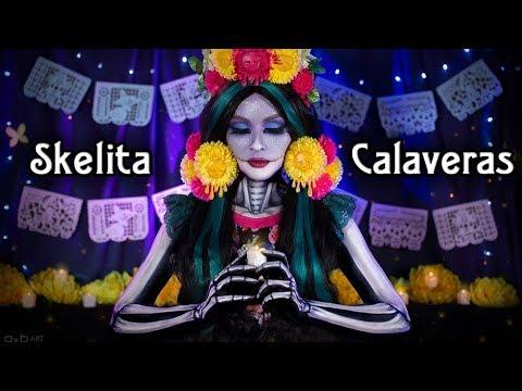 Скелита Калаверас - МАКИЯЖ - Monster High Cosplay