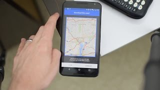 How to: Setup Offline Navigation in Google Maps (Works with Pokemon Go) Free HD Video