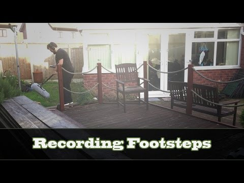 Field Recording: Recording and Editing Footsteps!