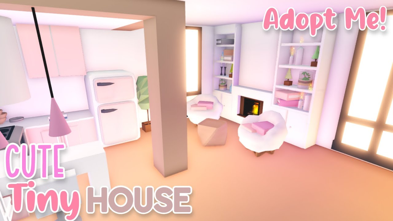 Cute Budget Tiny House Speed Build 🌸 | Roblox Adopt Me