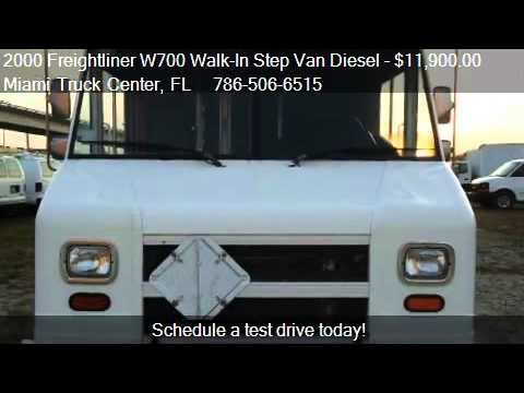Miami Truck Center >> 2000 Freightliner W700 Walk In Step Van Diesel For Sale I