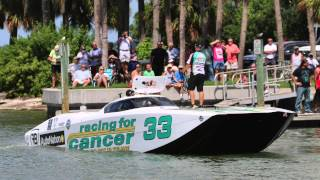 Team Racing for Cancer / Autonation #33 Offshore Powerboat Racing - 2014 Regular Season Highlights