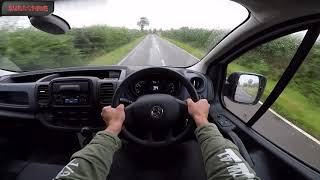 2015 Vauxhall Vivaro 1.6 CDTI POV Test Drive Review Acceleration By ORC