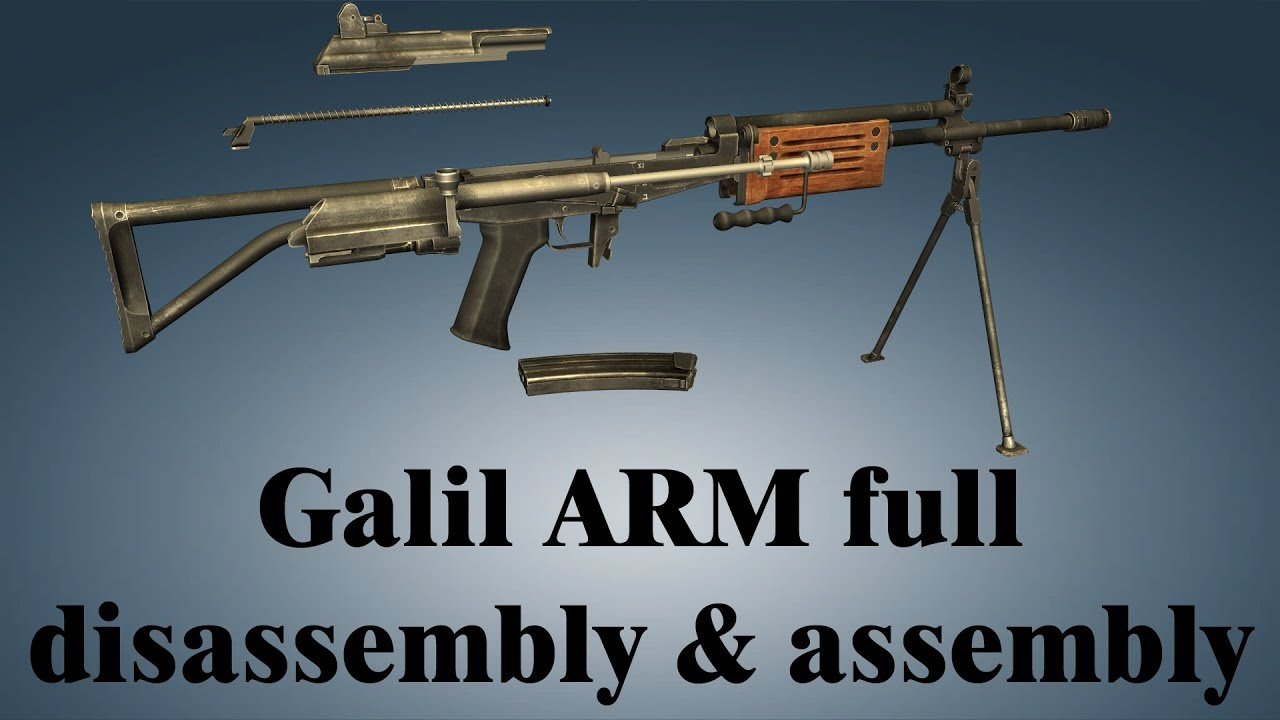Galil ARM: full disassembly & assembly