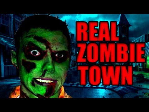 Real Life ZOMBIE Theme Park In Detroit!!!