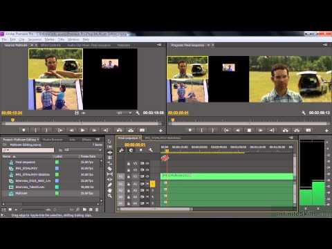 Adobe Premiere Pro CC Tutorial   Performing Multi-Camera Editing