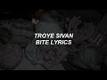Bite Troye Sivan