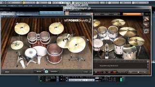 Download MT Power Drum Kit 2  VS  EZ DRUMMER 2 MP3 song and Music Video