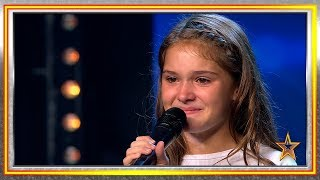 Esta niña tiene problemas de corazón y cantar es su refugio | Audiciones 5 | Got Talent España 2019