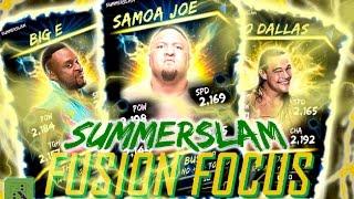 SUMMERSLAM FUSION FOCUS - BEST & WORST CARDS! : WWE SuperCard