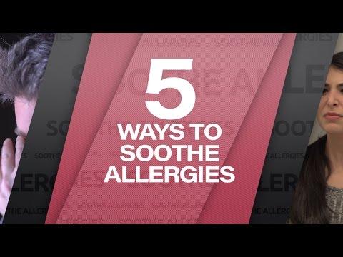 5 Ways to Soothe Allergies