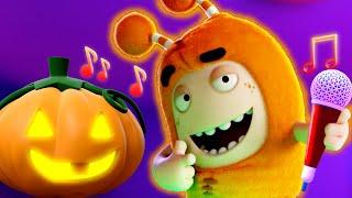 Oddbods Spooky Halloween Pumpkin Party   Funny Cartoon For Kids