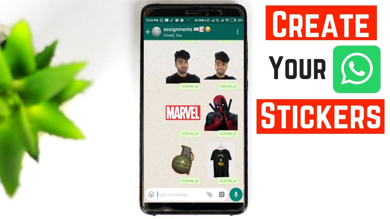 How to create own stickers on whatsapp iphone