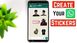 HOW TO CREATE YOUR OWN WHATSAPP STICKERS | COOL WHATSAPP STICKERS 2018