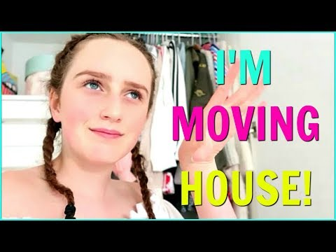 I'M MOVING! ReDoing My New Bedroom Makeover and Room Tour!