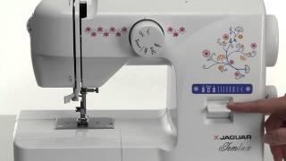 Видеообзор электромеханической швейной машины Jaguar mini JemLux