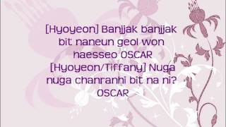 Girls' Generation/SNSD (소녀시대) Oscar (3rd Album) Lyrics