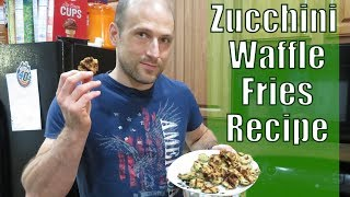 The Cooking Show | Homemade Zucchini Waffle Fries Recipe | Lunch/Dinner idea | Ep. 3