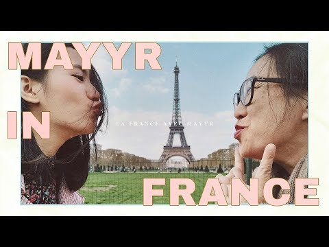 เมอาพา(แม่)เที่ยว ตอน กรุงปารีส ประเทศฝรั่งเศส!!! | MayyR in France - วันที่ 21 Apr 2019