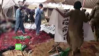 Pakistan : un attentat suicide fait au moins 132 morts lors d'une réunion électorale
