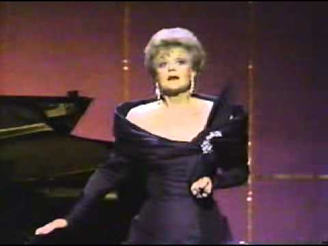Dame Angela Lansbury performing Send in the Clowns