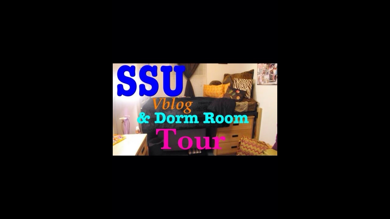 VLOG  SSU Savannah State Dorm Room Tour Richard