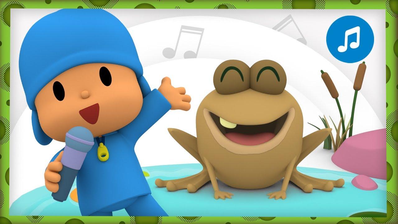 🐸 Cucú cantaba la rana | Caricaturas, Dibujos Animados, Canciones Infantiles para niños - Pocoyó