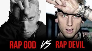 Machine Gun Kelly Disses Eminem, Hailie, Kim And G-Eazy On New Track 'Rap Devil'