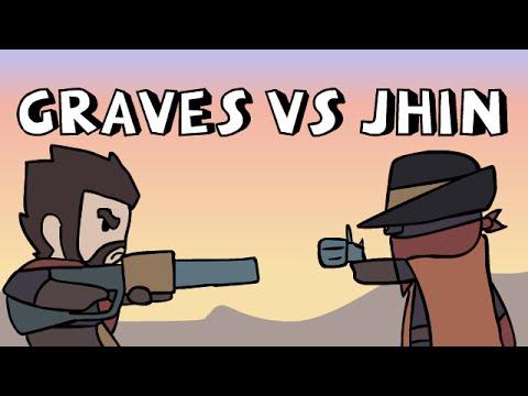 LoL Anims | Graves vs Jhin