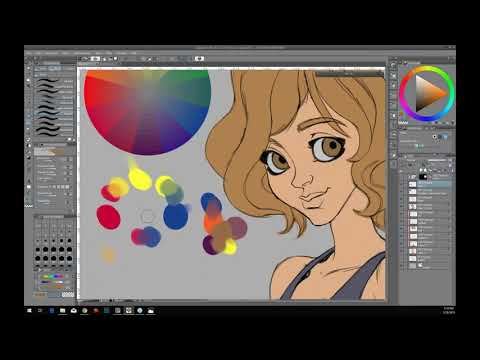 Clip Studio Paint Webinar: Realistic Coloring and Shading with Concept Artist Magda Proszowska