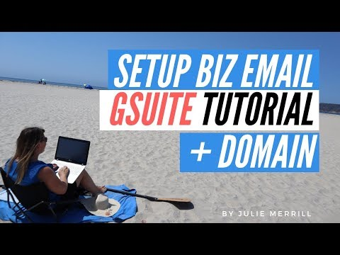 How To Set up G Suite Email for Business and Purchase Your Own Domain thumbnail